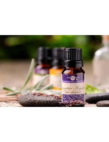 Aceite esencial puro 100% natural con goteador, 10 ml