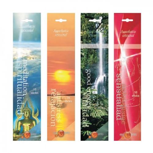 Incienso aromático Aromaterapia, 16 sticks