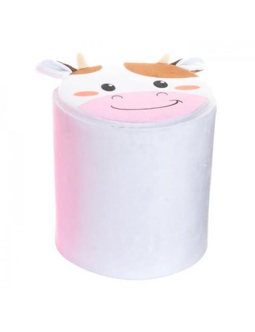 "Caja almacenaje PVC/Poliester ""Vaca"""