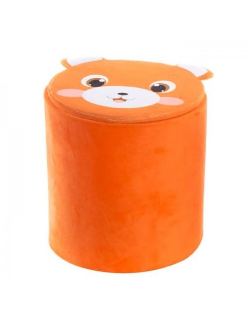 """Caja almacenaje PVC/Poliester """"zorro"""""""
