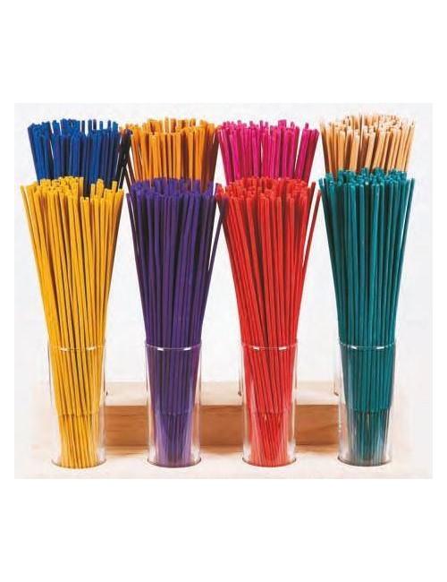 Pack AHORRO 12 - 100 sticks incienso 32 cm - 10 fragancias diferentes