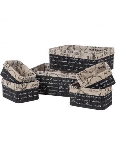 Contenedor tablillas negro - Varios tamaños