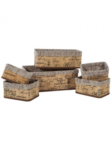 Contenedor tablillas madera - Varios tamaños
