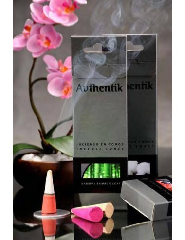 Maxicono de incienso Authentik, caja 9 unds.