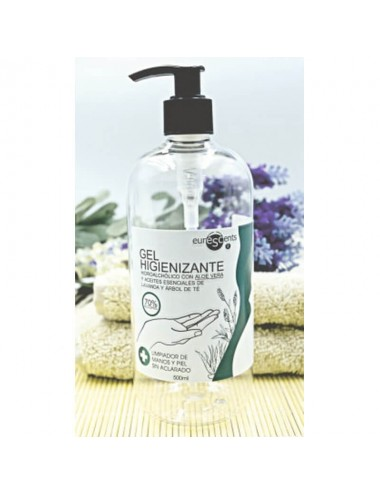 Gel higienizante de manos, 500 ml