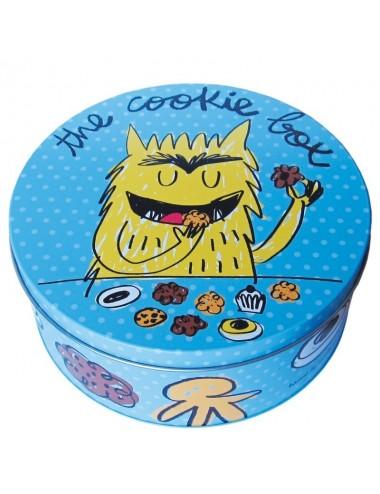"Caja metálica original diseño Anna Llenas ""the cookie box"""
