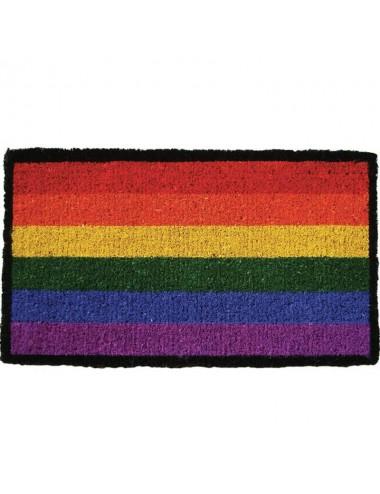 Felpudo multicolor arco iris