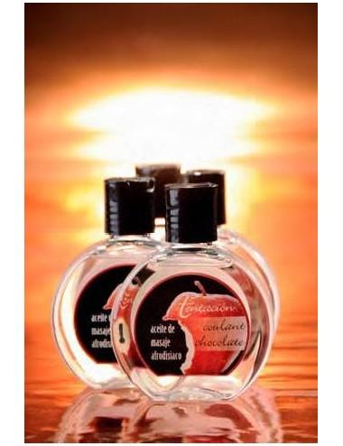 Aceite de masaje afrodisiaco, 100 ml.
