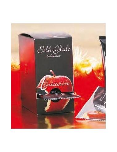 Lubricante SILK GLIDE, 16 monodosis de 10 ml.