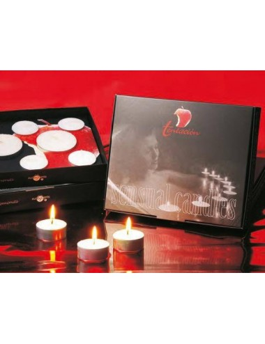 Set erotic candle 8 (6+2) velas aromáticas con feromonas