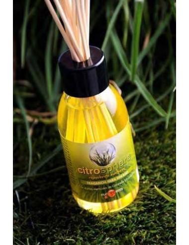 Mikado Citronella con tapón difusor y varillas, 125 ml.