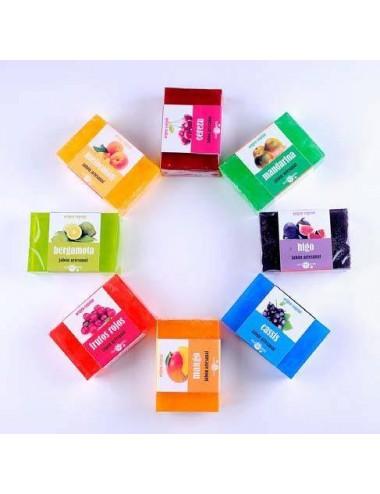 Jabon frutal glicerina natural, 100 g